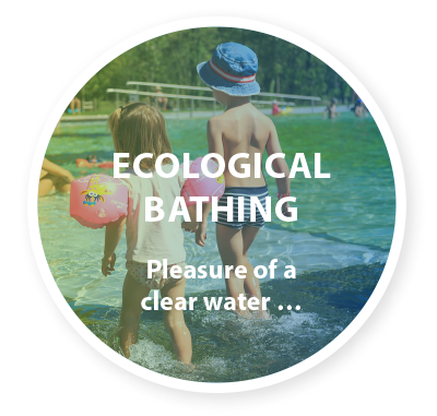 Ecological bathing Pleasure of a clear water …